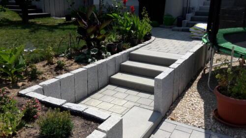 Treppen und Mauern