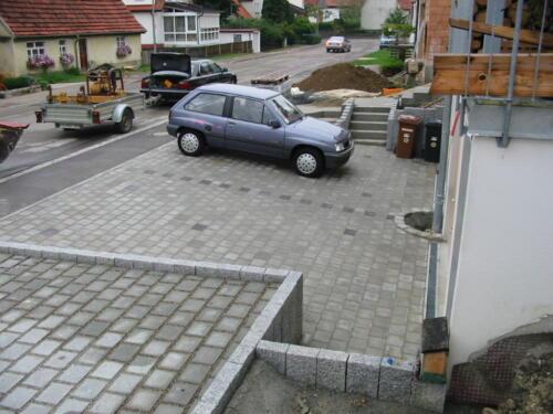 Garagenzufahrt